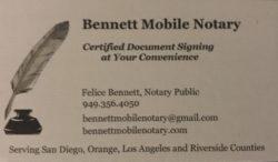 Bennett Mobile Notary